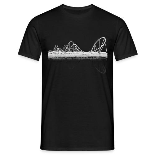Silverstar Weiss Coaster-Shirt - Männer T-Shirt