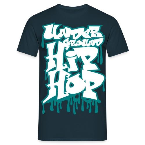 Underground hip-hop graffiti blanc - T-shirt Homme