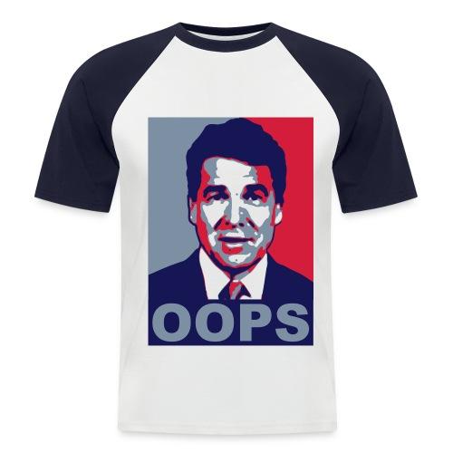 oops - Mannen baseballshirt korte mouw
