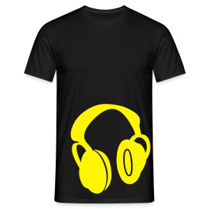 Black Customisable - Men's T-Shirt