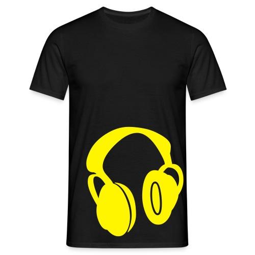 Black Customisable - Men's T-Shirt