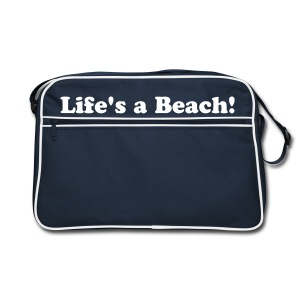 Retro Beach Bag Navy for Boys - Retro Bag