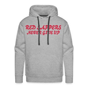 RED SAPPERS NEVER GIVE UP - Men's Premium Hoodie