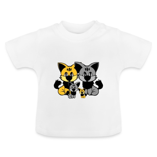 T shirt bébé chats - T-shirt Bébé