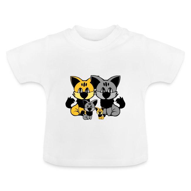 T shirt bébé chats