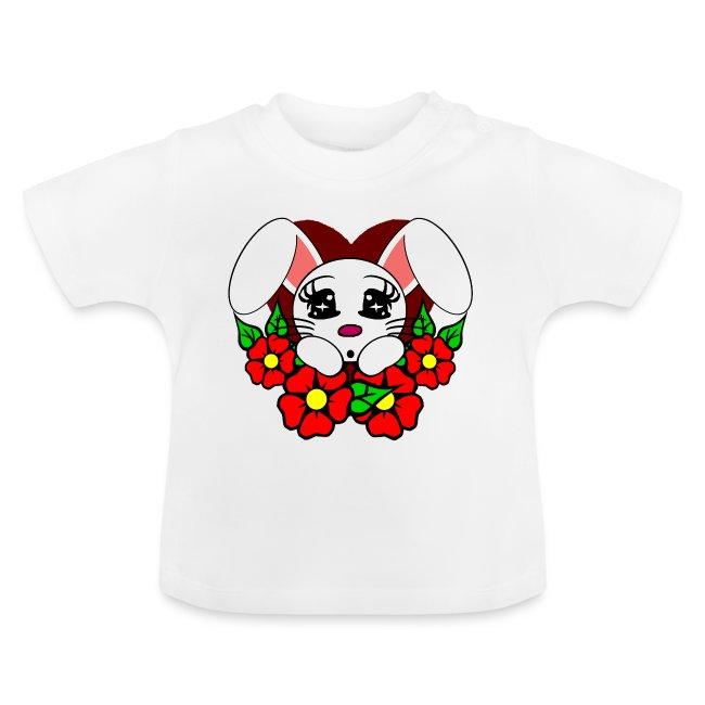 T shirt bébé lapin