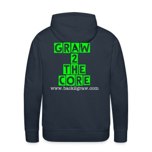 BacK2GraW Deadly At Range and G2TC  Hoodie Men - Men's Premium Hoodie