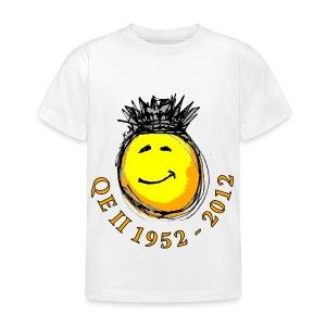 QE II Queenie Jubilee Smiley - Kids' T-Shirt