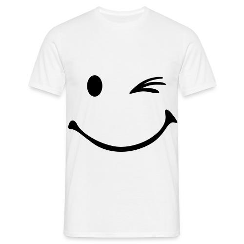 Smiley Thsirt - Männer T-Shirt
