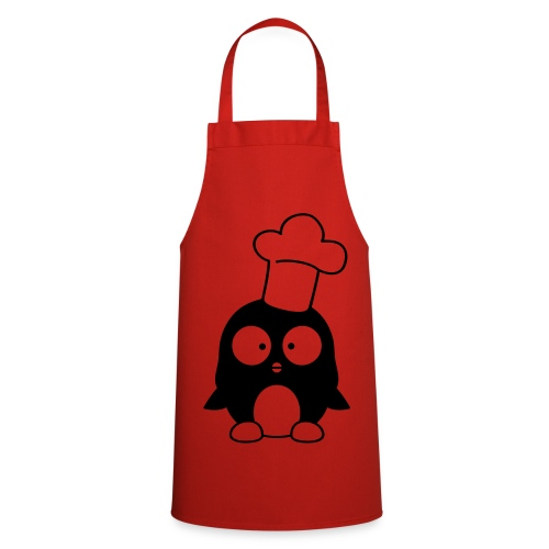 Cooking Apron - cook,penguin