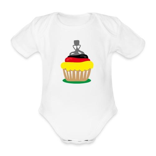 Championscupcake - Baby Bio-Kurzarm-Body