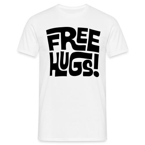 FREE HUGS. - Men's T-Shirt