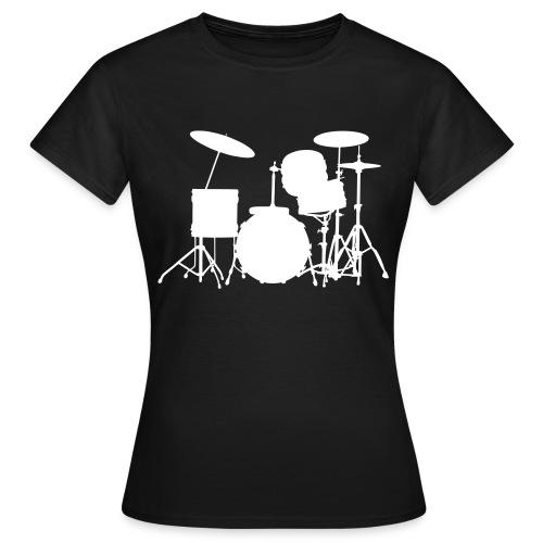 Drummer female shirt - Women's T-Shirt