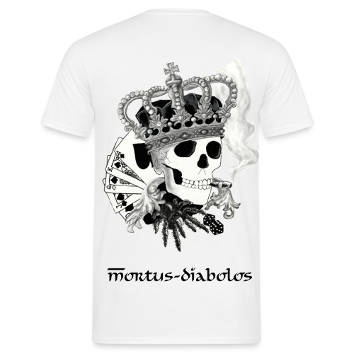 Mortus-Shirt KING for Boys - Männer T-Shirt