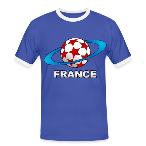 t-shirt supporter football france - Men's Ringer Shirt