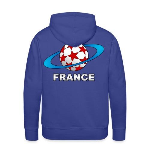 sweatshirt capuche supporter football france - Men's Premium Hoodie