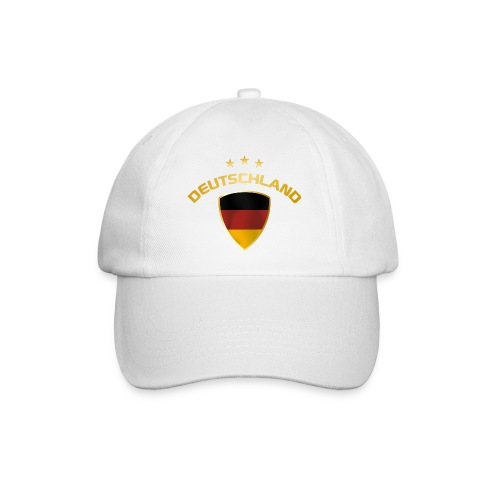 EM-Cap Ball Deutschland und Sterne - Baseballkappe