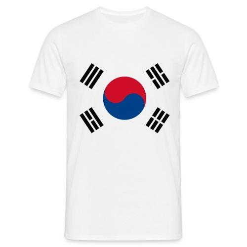 South Korea flag  - T-shirt Homme
