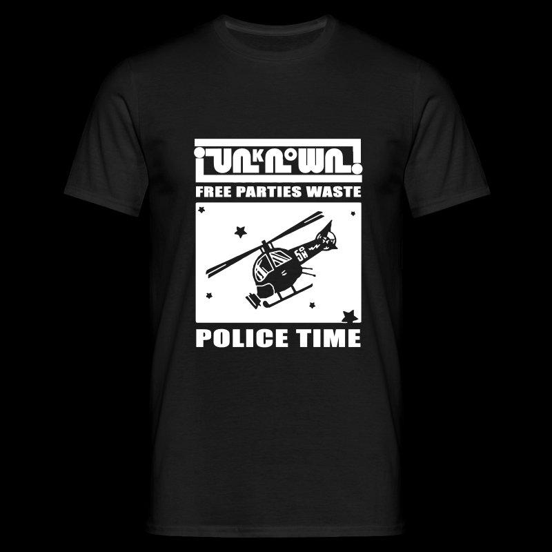 Police Tshirt - Men's T-Shirt