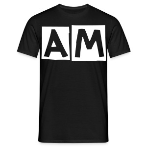 Awful Modifications 'AM' logo tee. - Men's T-Shirt