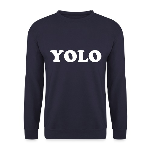YOLO Sweater zonder capuchon - Mannen sweater