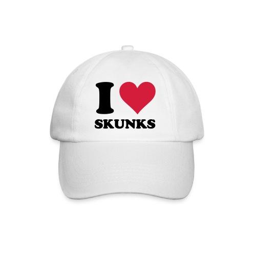 I Heart Skunks Baseball Cap - Baseball Cap