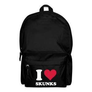 I Heart Skunks Backpack - Backpack