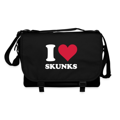 I Heart Skunks Bag - Shoulder Bag