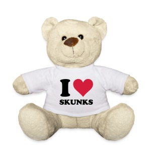 I Heart Skunks Teddy - Teddy Bear