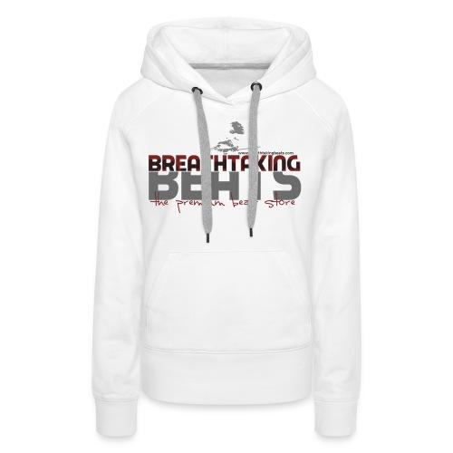 BB Sweater White (Women) - Women's Premium Hoodie
