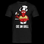 T-Shirts ~ Männer T-Shirt ~ Oxe am Grill