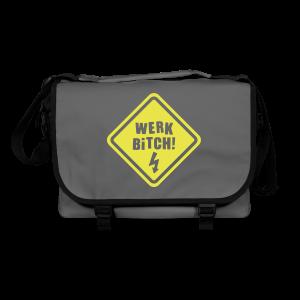 Werk Bitch-Yellow - Shoulder Bag