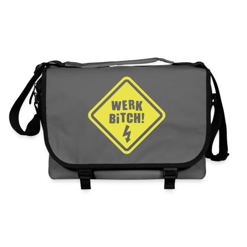 Werk Bitch-Yellow - Shoulder Bag