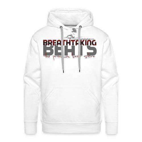 BB Sweater White (Men) - Men's Premium Hoodie