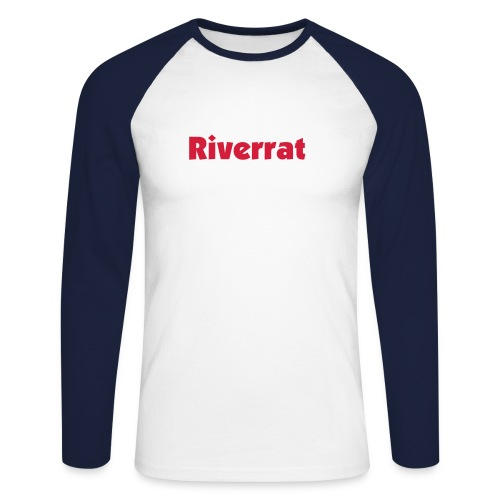 Riverrat - Men's Long Sleeve Baseball T-Shirt