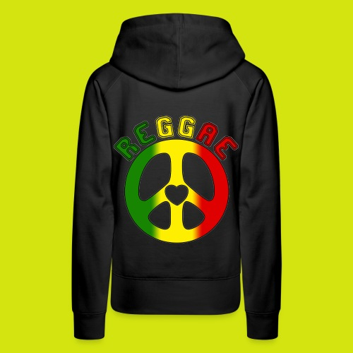 sweat reggae - Sweat-shirt à capuche Premium pour femmes