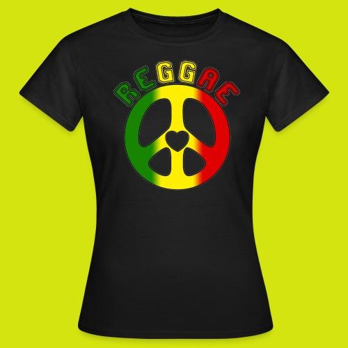 t-shirt reggae - T-shirt Femme