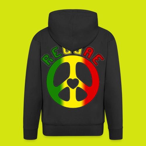 veste reggae - Veste à capuche Premium Homme