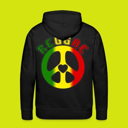 sweat reggae - Sweat-shirt à capuche Premium pour hommes