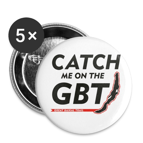 GBT Button klein - Buttons klein 25 mm (5er Pack)
