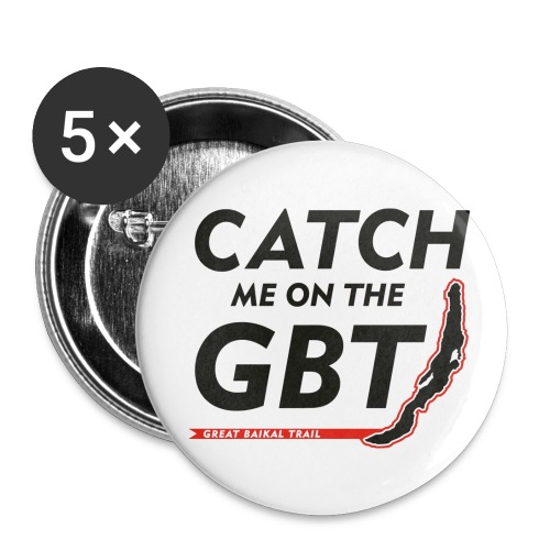 GBT Button mittel - Buttons mittel 32 mm (5er Pack)