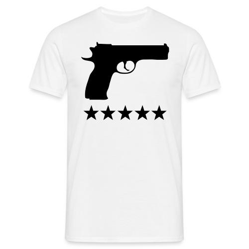 Five stars T-shirt - T-shirt herr
