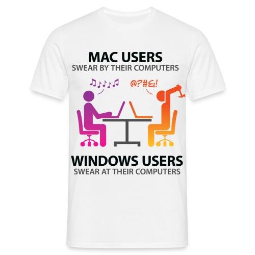 Offical Mac VS Windows - Men's T-Shirt