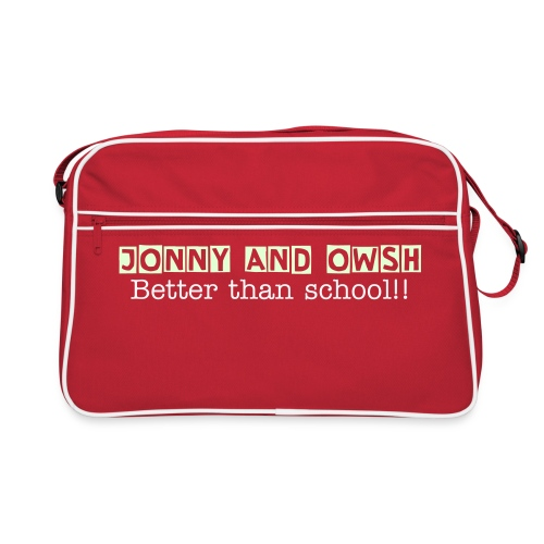Jonny and Owsh bag - Retro Bag