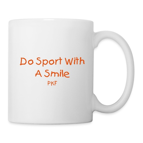 Do Sport With A Smile Mug - Mug