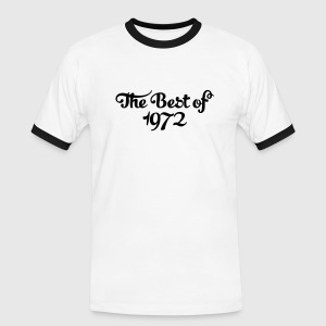 Geburtstag - Birthday - the best of 1972 (nl) T-shirts - Mannen contrastshirt