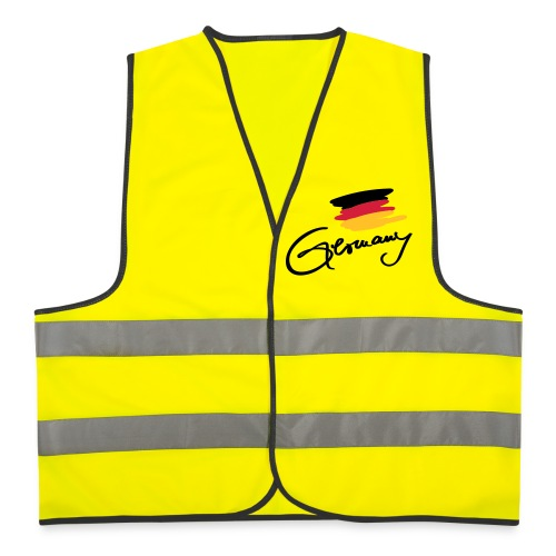 Germany Weste Druck vorne - Warnweste