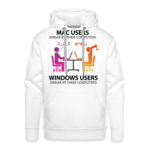 Mac VS Windows Hoodie - Men's Premium Hoodie