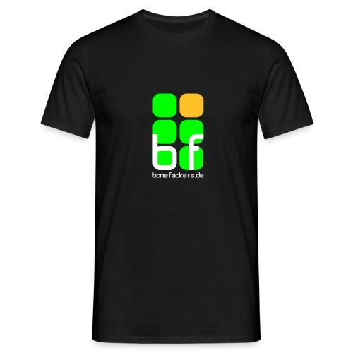 Brustaufdruck schwarz original - Männer T-Shirt