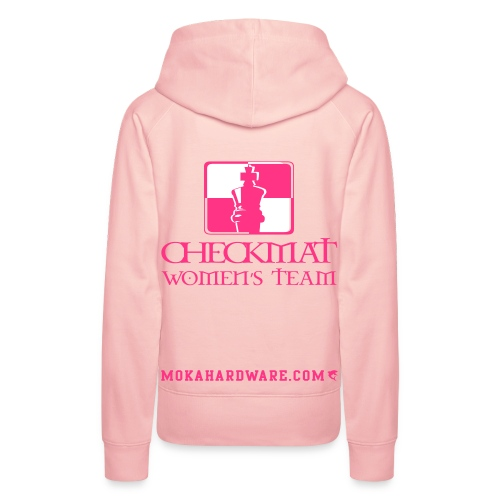 Arte Suave/CheckMat Womens Team Hoodie Pink - Dame Premium hættetrøje